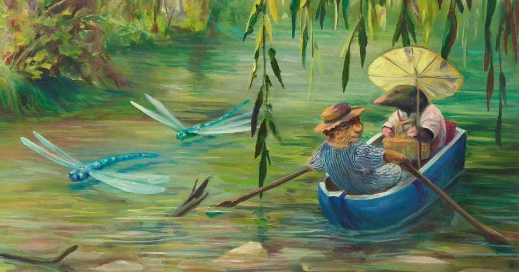 ADFAS Lecture: The Wind & The Willows through its illustrators Tues 4 September 2018, 5.30pm Scone Arts & Crafts Centre, Scone