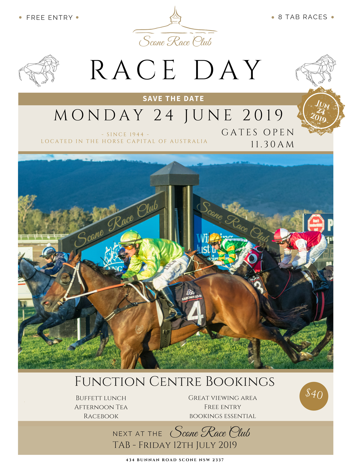 Scone Races June 24th 2019