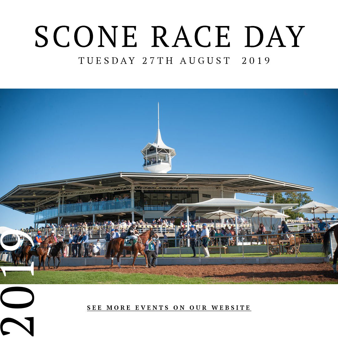 Scone Race Day 27th August 2019 - Scone Race Club - Upper Hunter Events