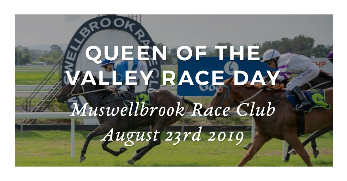 QUEEN OF THE VALLEY RACE DAY - Sunday 25th August