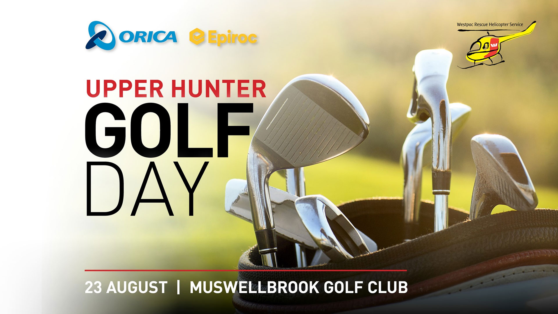 UPPER HUNTER GOLF DAY 23rd August 2019 - Upper Hunter Events